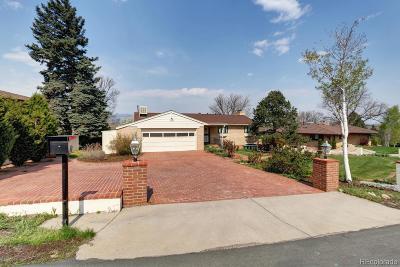 Wheat Ridge Single Family Home Under Contract: 39 Hillside Drive