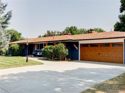 Arvada Single Family Home Active: 8080 Newman Street