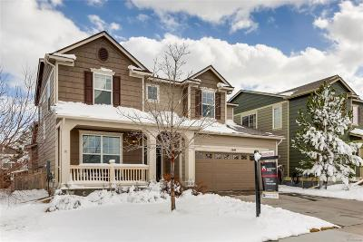 Castle Rock Single Family Home Active: 1540 Wandering Way