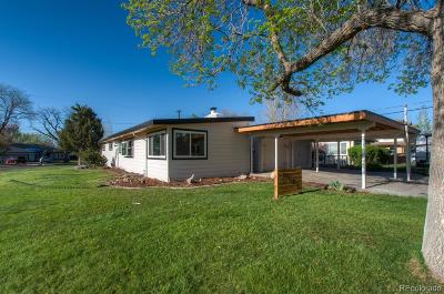 Wheat Ridge Single Family Home Under Contract: 7799 West 47th Avenue