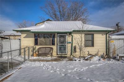 Commerce City Single Family Home Under Contract: 7990 Oneida Street