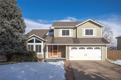 Highlands Ranch Single Family Home Under Contract: 9392 Crestmore Way