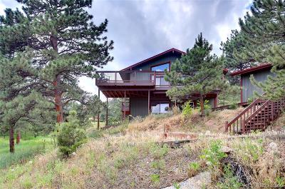 Boulder County Single Family Home Active: 8394 Larkspur Road