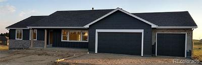 Elbert County Single Family Home Under Contract: 6957 Black Forest Drive