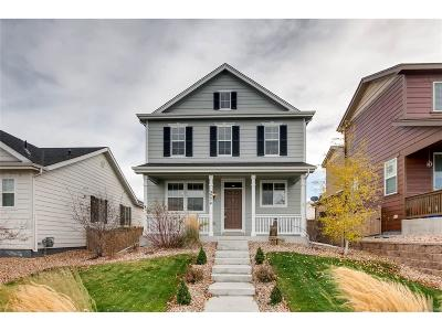 Castle Rock Single Family Home Under Contract: 3774 Cadence Drive