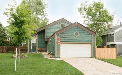 Littleton Single Family Home Under Contract: 10743 West Berry Place