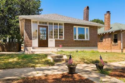 Denver Single Family Home Active: 3545 North Elizabeth Street