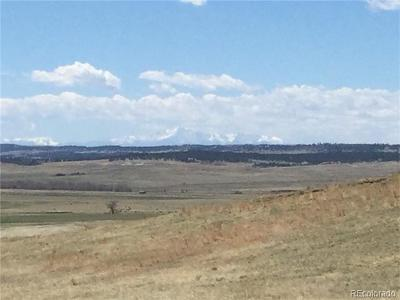 Kiowa CO Residential Lots & Land Active: $129,500
