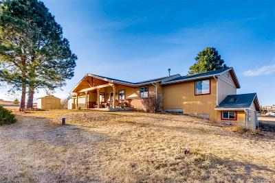 Elbert County Single Family Home Under Contract: 2049 Arabian Trail