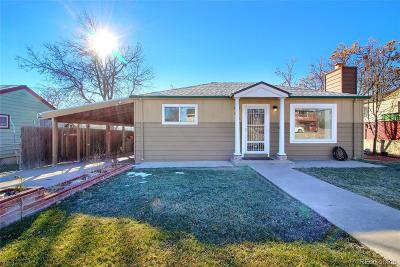 Denver County Single Family Home Active: 162 South Yates Way