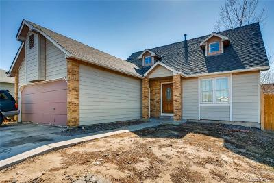 Denver Single Family Home Under Contract: 14412 East 47th Avenue