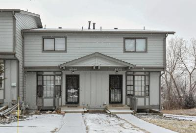 Arvada Condo/Townhouse Under Contract: 9044 West 63rd Avenue