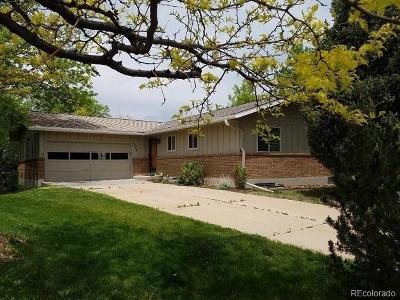 Boulder Single Family Home Active: 4325 Butler Circle