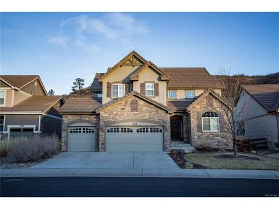 Castle Rock Single Family Home Under Contract: 1978 Trailblazer Way