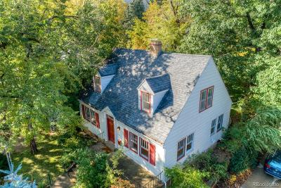 Boulder Single Family Home Active: 845 8th Street