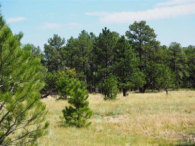 Elbert CO Residential Lots & Land Active: $110,000