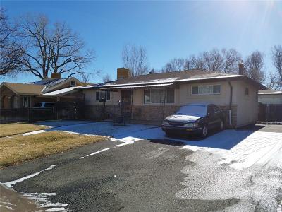 Denver Single Family Home Active: 4850 West Mexico Avenue