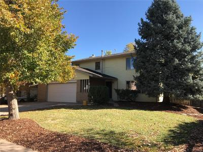 Aurora Single Family Home Active: 1370 South Paris Court