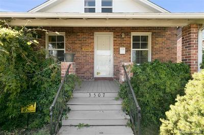 Denver Single Family Home Under Contract: 3507 North Jackson Street
