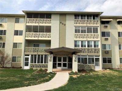 Denver Condo/Townhouse Active: 650 South Alton Way #11C