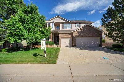 Castle Pines CO Single Family Home Active: $595,000