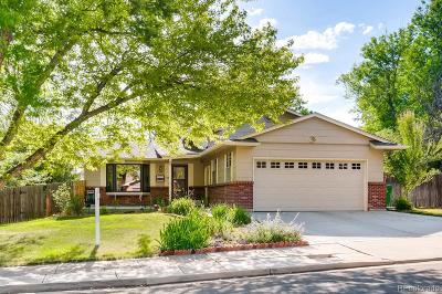 Centennial Single Family Home Active: 7449 South Tamarac Court