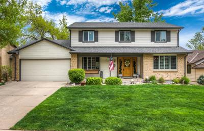 Littleton Single Family Home Under Contract: 2463 West Houstoun Waring Circle