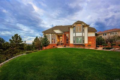 Castle Pines Single Family Home Under Contract: 820 Meadowrose Lane