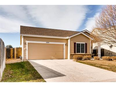 Castle Rock Single Family Home Under Contract: 5255 Suffolk Circle