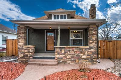 Englewood Single Family Home Under Contract: 2754 South Acoma Street
