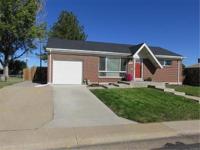 Northglenn Single Family Home Active: 10768 Murray Drive