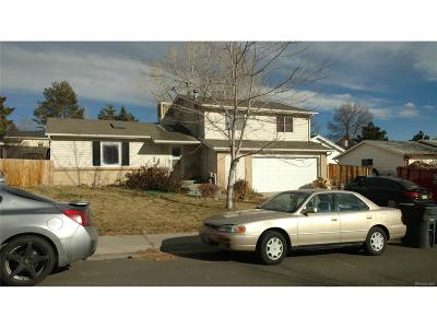 Morrison Single Family Home Under Contract: 4476 South Coors Street