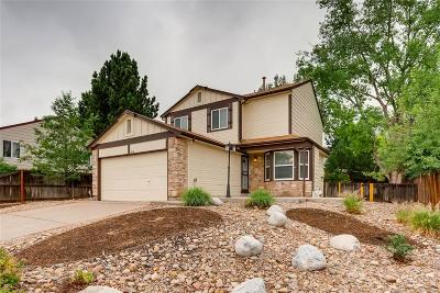 Littleton Single Family Home Under Contract: 7819 Kyle Way