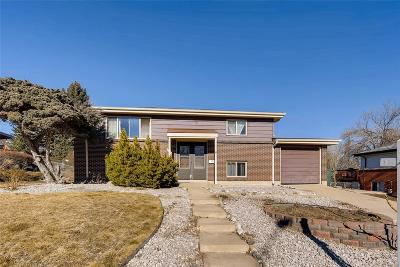 Northglenn Single Family Home Under Contract: 9688 Covey Court