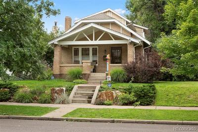 Denver Single Family Home Active: 161 South Humboldt Street
