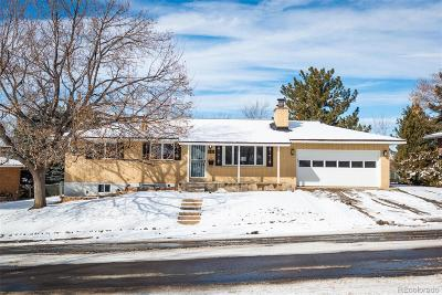 Denver Single Family Home Active: 8393 East Kenyon Drive