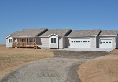 Keenesburg Single Family Home Under Contract: 891 County Road 63