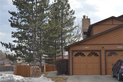 Broomfield Condo/Townhouse Under Contract: 9002 West 88th Circle