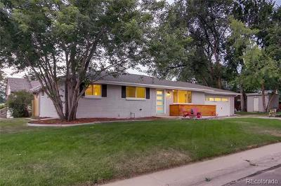 Wheat Ridge Single Family Home Active: 7200 West 27th Avenue