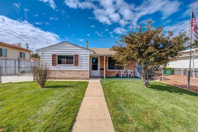 Commerce City Single Family Home Active: 6741 Ash Street