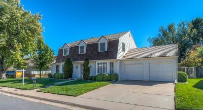 Denver Single Family Home Active: 4168 South Oneida Street