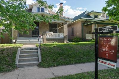 Denver Single Family Home Active: 3476 West Hayward Place