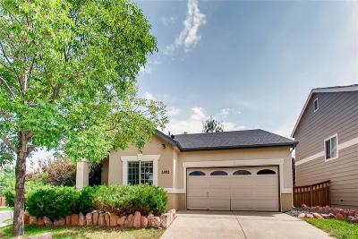 Brighton Single Family Home Under Contract: 5092 Nighthawk Parkway