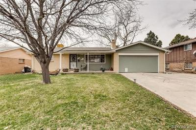 Arvada Single Family Home Active: 8159 Chase Drive