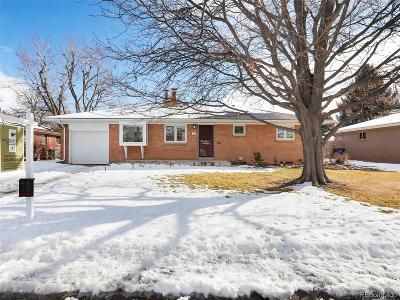 Littleton Single Family Home Active: 578 West Valleyview Avenue