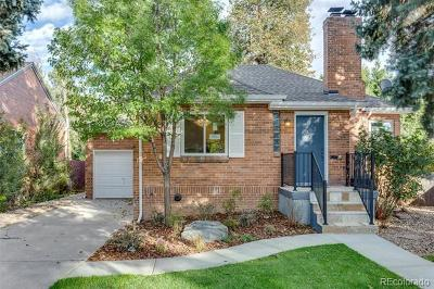 Denver Single Family Home Active: 1520 Magnolia Street