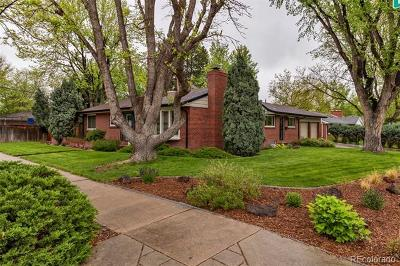 Denver CO Single Family Home Active: $850,000