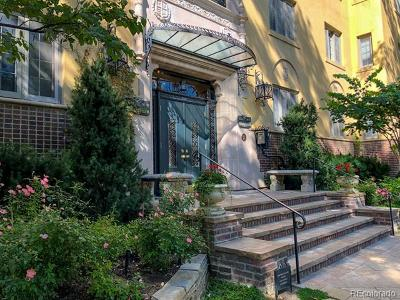 Cheeseman & Moffat, Cheeseman Park, Cheesman Park Condo/Townhouse Active: 1515 East 9th Avenue #101
