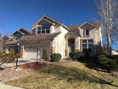 Pine Creek Single Family Home Under Contract: 9949 Rose Leaf Court