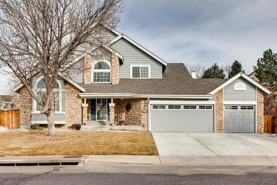 Highlands Ranch Single Family Home Active: 9614 Chanteclair Circle